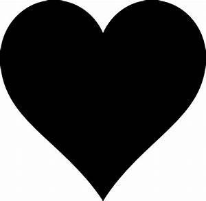 Small Black Heart Clip Art at Clker.com - vector clip art ...