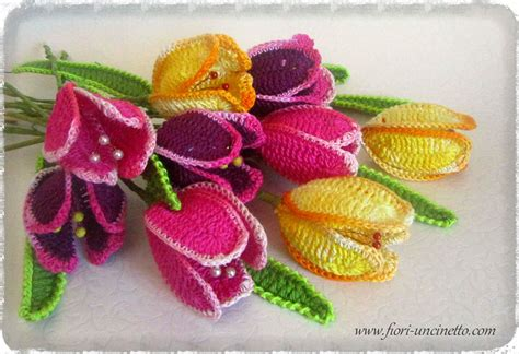 Fiori All Uncinetto by Fiori Uncinetto Crochet Flowers Fiori All Uncinetto