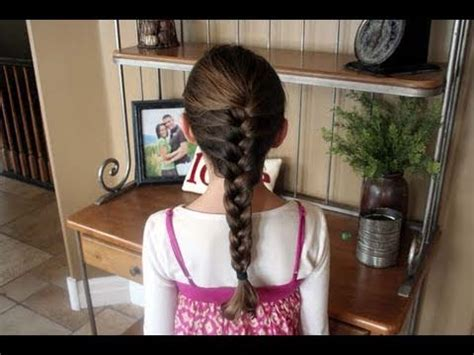 How to French Braid #2 Braided Hairstyles Cute Girls
