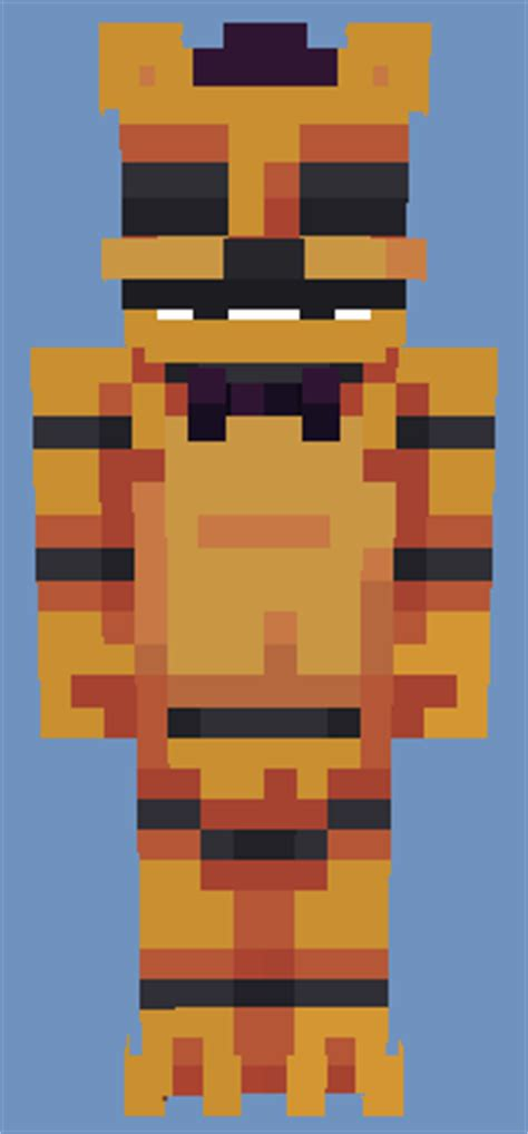 FNaF 1 [Better in 3D] All characters - 5 skins Minecraft Skin
