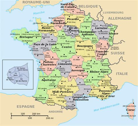 map  france  cities  towns small administrative