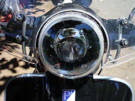 modern vespa bi xenon hid headlight projector retrofit