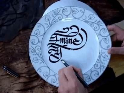 Penmanship Plate Gifs