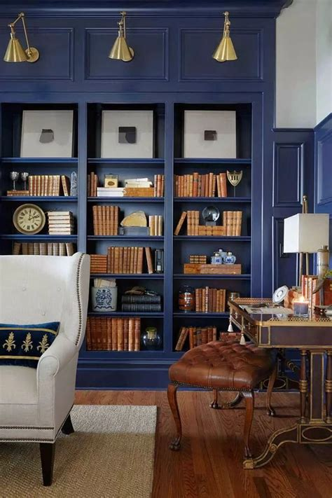 Blue Bookcase by Favorites 50 Decorative Objects Centsational
