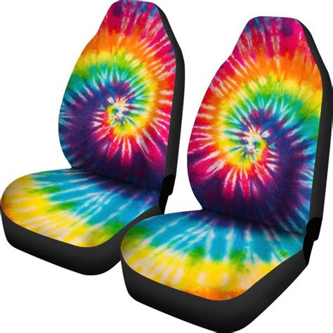 tie dye car seat covers groove bags