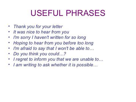 informal letter