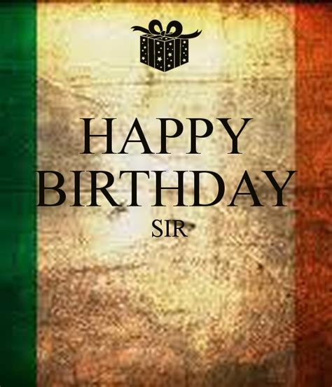 Happy Birthday Sir Poster  Dilip Singh Yadav  Keep Calm