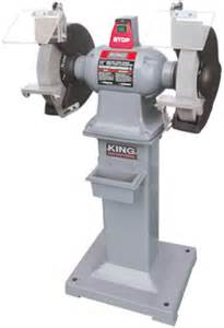 king canada kc 1295 12 quot heavy duty bench grinder with floor stand