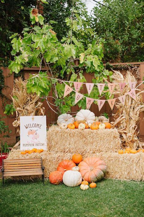 karas party ideas  pumpkin fall picnic birthday