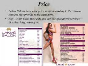bridal card lakme salon service marketing