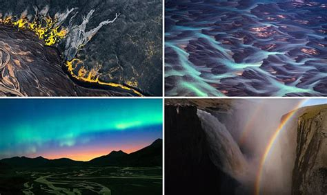 Stunning drone footage of Iceland's scenic landscape ...