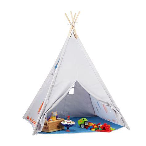 Tipi Zelt Kinderzimmer Blau by Tipi Spielzelt F 252 R Kinder Tipi Zelt Kinderzimmer