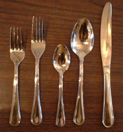 flatware stainless steel cutlery restaurant heavy perla description restaurants