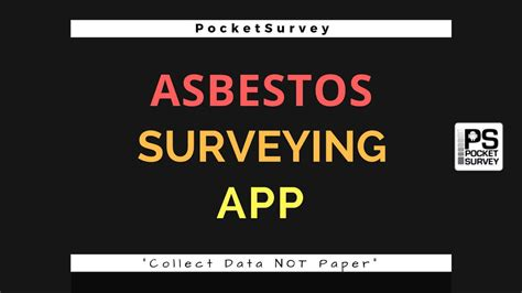 asbestos survey software mobile surveying app