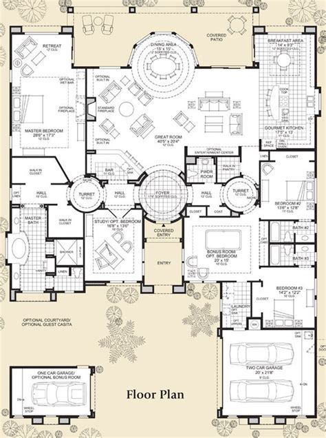 big kitchen floor plans best 25 luxury home plans ideas on home