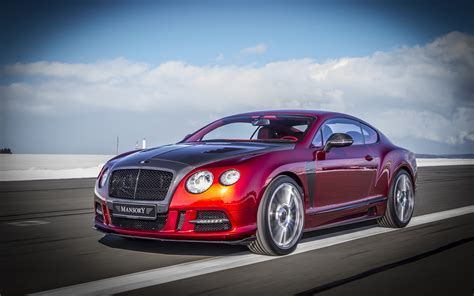 2013 Mansory Bentley Continental Gt Sanguis