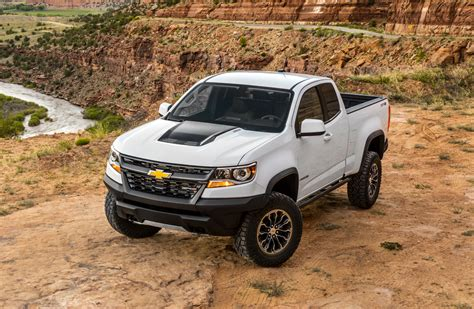 2017 Chevrolet Colorado Zr2 Review First Drive