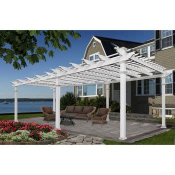 25 best ideas about vinyl pergola on pergola