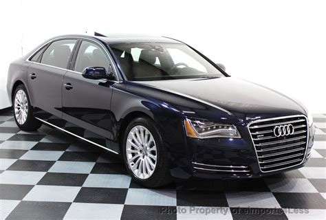 Used Audi by 2013 Used Audi A8 L Certified A8l 4 0t V8 Quattro Awd