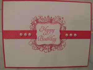 happy everything plate sale simple birthday card with elementary elegance grace 39 s
