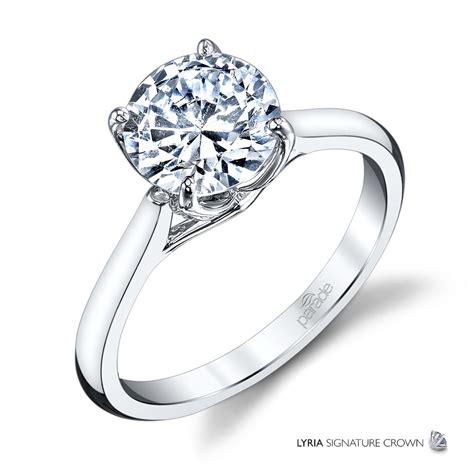 wedding ring design white gold new classic bridal r3671 parade design designer engagement rings