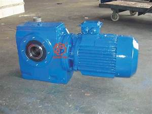 China Helical Worm Gear Speed Reducer  S Series