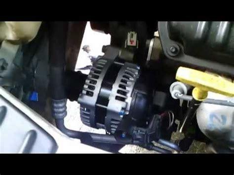 chrysler tc idler tensioner alternator rpl youtube