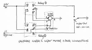 Wiper Motor Park Wiring Diagram