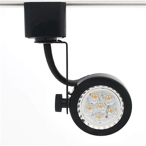 gu10 mr16 black gimbal ring track light fixture