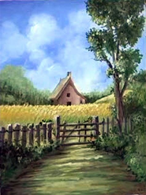 The Cottage Painting by Apprentice Acrylic Class