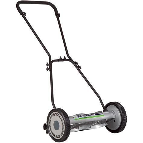 american lawn mower push reel lawn mower  deck