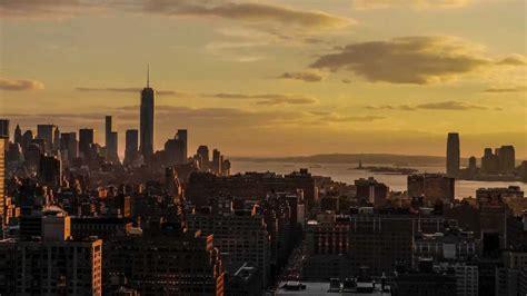 Badmöbel Set New York by Sunset Time Lapse New York City Jan 2014