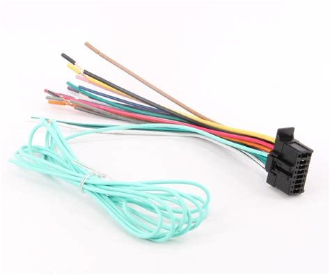 cdp1666 power wire harness cord assy for avic 5200nex avic 6200nex avic 7200nex and avic 8200nex
