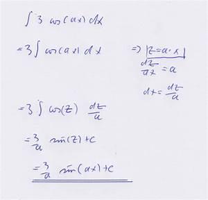 Aufleitung Berechnen : stammfunktion von gleichung f x 3 cos a x a 0 mathelounge ~ Themetempest.com Abrechnung