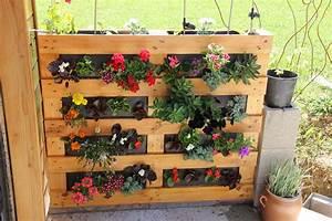 Mur Végétal En Palette : fabriquer un mur vegetal en palette sofag ~ Melissatoandfro.com Idées de Décoration