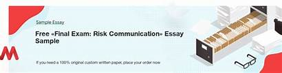 Essays Marvelous Exam Communication Risk Final