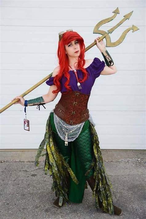 Steampunk Ariel Cosplay Halloween Ariel Cosplay