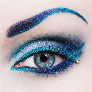 beauty eyes beautiful eye makeup blue blue eyes colors ...