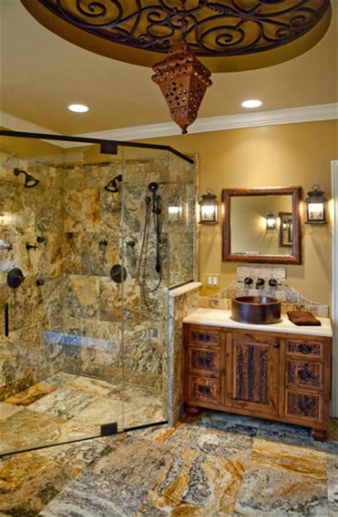 Rustic Spa Bathroom by Rustic Spa