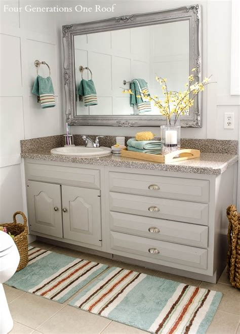 bathroom rug decorating ideas bathroom refresh with better homes and gardens makeover