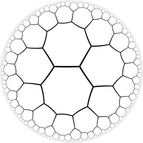 pentagon tiling hyperbolic plane level design why don t we use octogonal maps instead of