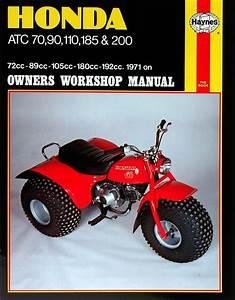 Honda Motorcycle Atc90  1971