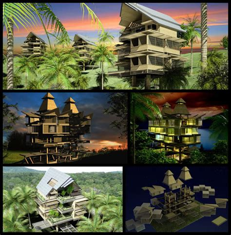 philippine dream house design futuristic bahay kubo