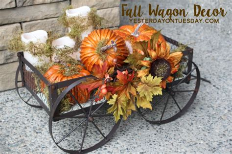 Pretty Fall Decor Ideas  Yesterday On Tuesday