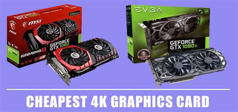 However, if you are going to be gaming, doing work, and just generally using your computer, you may want to look at some other options. 9 Cheapest 4K Graphics Card - Top Picks & Reviews 2020