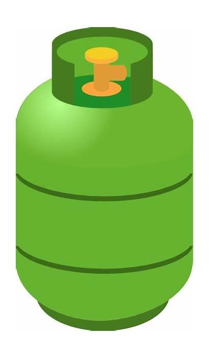 Gas Clip Clipart Tank Natural Vector Tanker