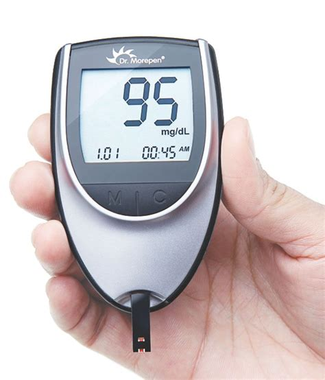dr morepen glucose monitor bg    sugar test