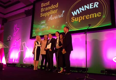 supreme retailers supreme thanks retailers after award winning year pet