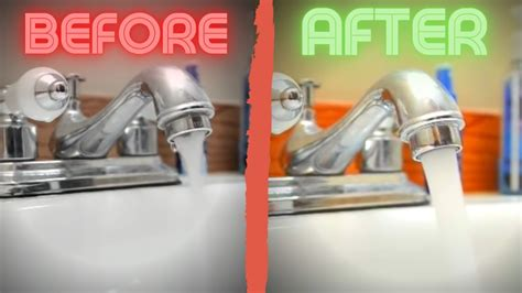 easy fix   water pressure  kitchen sink