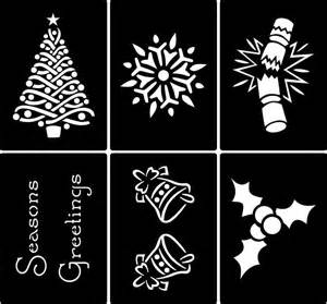Buy Decorative Flowers Online by Traditional Christmas Stencils Buy Online Today